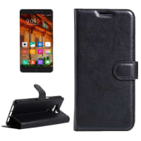 Smart Case for Elephone P9000 - Artificial leather, black Case