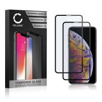 2x Protection d'écran en verre iPhone 11 Pro Max / iPhone Xs Max (3D Full Cover, 9H, 0,33mm, Full Glue) Verre trempé