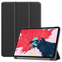 Smart Case for Apple iPad 11 (2020) - A2228, A2231 - synthetic Leather, Black Case