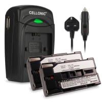 Battery for Samsung SC-L906 -L901 -L860 -L810 -L700 SC-D23 VP-W80 -W70 -W60 VP-M50 VP-L800 -L900 -L700 -L600 -L600 - SB-L110A -L160 -L320 -L480 (1850mAh) Replacement battery