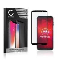 Vetro protettivo di schermo Motorola Z3 Play (3D Full Cover, 9H, 0,33mm, Full Glue) Pellicola vetro temperato
