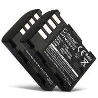 2x Batterie pour Sigma SD Quattro, Sigma SD Quattro H - Sigma BP-61 (1600mAh) Batterie de remplacement