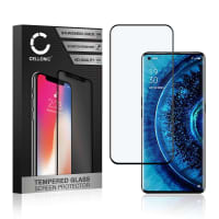 Näytönsuojat Lasi Oppo Find X2 / Find X2 Pro (3D Full Cover, 9H, 0,33mm, Full Glue) Tempered Glass