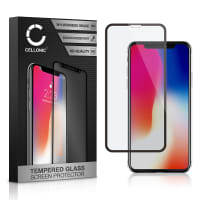 Skärmskyddsglas Apple iPhone X (3D Full Cover, 9H, 0,33mm, Full Glue) Displayskydd Mobilskydd