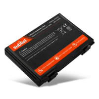 Batteri for ASUS F52 / F82 / K40 / K50 / K51 / K60 / K61 / K70 / P50 / P81 / Pro5C - A32-F52 / A32-F82 (4400mAh) reservebatteri