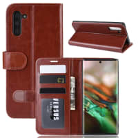 Case for Samsung Galaxy Note 10 (SM-N970) - PU Leather, Brown Case
