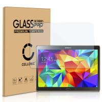 Displaybeschermglas Samsung Galaxy Tab S 10.5 (SM-T800 / SM-T805) (2.5D Afgeronde hoeken, 9H, 0,33mm, Full Glue) Tempered Glass