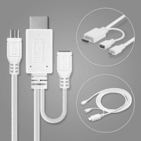 MHL HDMI-Adapterkabel (micro USB 5 pin) für Tablets