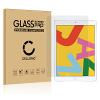 Cristal protector de la pantalla Apple iPad 10.2 2019 (7th Gen) (3D Full Cover, 9H, 0,33mm, Full Glue) Protector pantalla