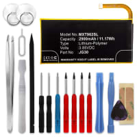 Battery for Motorola Moto G7 (XT1962-5) - JG30 (2900mAh) + Tool-kit, Replacement battery