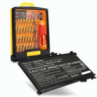 Akku für HP Omen 15-ax200 Serie / Pavilion 15-bc200 Serie - TE04XL (4000mAh) + Werkzeug-Set, Ersatzakku