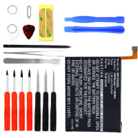 Battery for Wiko Getaway incl. Tool-kit - TLE14I14, TLE14J14 (2000mAh) Replacement battery
