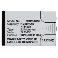 Batterie pour Sonim XP3-S Sonim XP3 Enduro (1200mAh) Sonim XP3-0001100