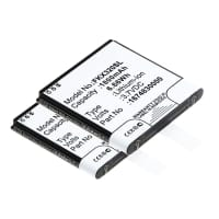 2x Battery for Falk IBEX 25 IBEX 32 - 1675210000 (1800mAh) Spare Battery Replacement