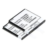 2x Batterie pour Falk IBEX 25 IBEX 32 - 1675210000 (1800mAh) Batterie Rechange