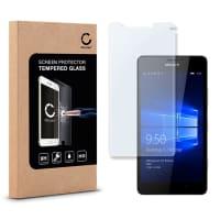 Protection d'écran en verre pour Microsoft Lumia 950 - Tempered Glass (Qualité HD / 2.5D / 0,33mm / 9H)