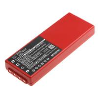 Akku für HBC Radiomatic Spectrum 2 / Spectrum 3 - 005-01-00466 (2000mAh) Ersatzakku