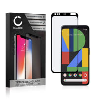 Panzerglas Google Pixel 4 (3D Case-friendly, 9H, 0,33mm, Full Glue) Displayschutz Tempered Glass