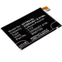 Batteria per HTC One M7 - BN07100, 35H00207-01M (2300mAh) batteria di ricambio