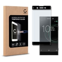 Panzerglas für Sony Xperia XA1 Ultra (G3221) - Tempered Glass (HD-Qualität / 3D Full Cover / 0,33mm / 9H)