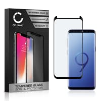 Screen protector glass Samsung Galaxy S9 (SM-G960) (3D Case-friendly, 9H, 0,33mm, Full Glue) Tempered Glass