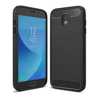 Back Cover pour Samsung Galaxy J5 DUOS (2017 - SM-J530) - TPU, noir Housse Pochette