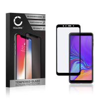 Protection d'écran en verre Samsung Galaxy A7 (2018) (SM-A750) (3D Full Cover, 9H, 0,33mm, Full Glue) Verre trempé