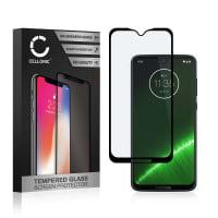 Protection d'écran en verre Motorola G7 Plus (3D Case-friendly, 9H, 0,33mm, Full Glue) Verre trempé