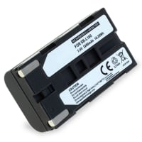 Battery for Samsung SC-L906 -L901 -L860 -L810 -L700 SC-D23 VP-W80 -W70 -W60 VP-M50 VP-L800 -L900 -L700 -L600 -L600 - SB-L110A, -L160, -L320, -L480 1x 2200mAh , Replacement battery