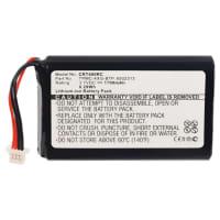 Akku varten Crestron TPMC-4XG, TPMC-4XG Touchpanel - TPMC-4XG-BTP, 6502313 (1700mAh) VaihtoakkuVaraparisto