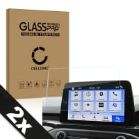 2x Screen protector glass Ford Focus (2.5D, 9H, 0,33mm, Full Glue) Tempered Glass