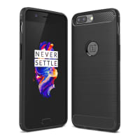 Back Cover for OnePlus 5 (A5000) - TPU, black Case