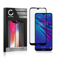 Protection d'écran en verre Huawei Y6 (2019) (3D Case-friendly, 9H, 0,33mm, Full Glue) Verre trempé