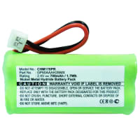 Battery for JTECH Commpass, NTN Communications LT2001 - 232016, 232020, 46785, 450, GP30AAAK2BMX, NIC0158 (700mAh) Replacement battery