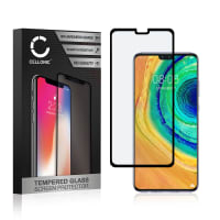 Panzerglas Huawei Mate 30 (3D Case-friendly, 9H, 0,33mm, Full Glue) Displayschutz Tempered Glass