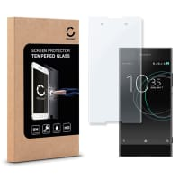 Displaybeschermglas voor Sony Xperia XA1 - Tempered Glass (HD kwaliteit / 3D Full Cover / 0,33mm / 9H)