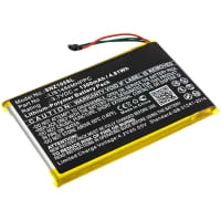 Battery for Sony NWZ-Z1050 / NWZ-Z1050N / NWZ-Z1060 / NWZ-Z1070 - LIS1484MHPPC (1300mAh) Spare Battery Replacement