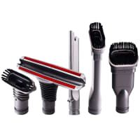 Accessories set for Dyson vacuum cleaner V6 / V7 / V8 / V9 / V10 - 5 pieces (brushes, nozzles)