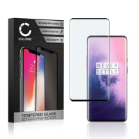 Displaybeschermglas OnePlus 7T Pro (3D Full Cover, 9H, 0,33mm, Edge Glue) Tempered Glass