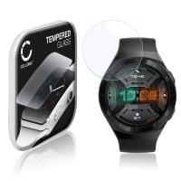 Displayschutzglas Huawei Watch GT2e (2.5D, 9H, 0,33mm, Full Glue) Displayschutz Tempered Glass