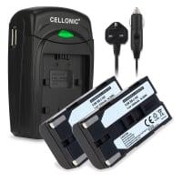 Battery for Samsung SC-L906 -L901 -L860 -L810 -L700 SC-D23 VP-W80 -W70 -W60 VP-M50 VP-L800 -L900 -L700 -L600 -L600 - SB-L110A, -L160, -L320, -L480 (2200mAh) Replacement battery