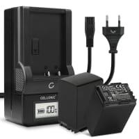 2x Batterie pour appareil photo Canon XA10 XA20 XA25 XA30 XA35 LEGRIA HF G25 G10 G30 HF S21 FS200 FS306 GX10 HF10 HG20 - BP-820 BP-828 2670mAh + Chargeur CG-800 Batterie Remplacement