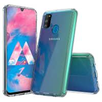 Backcover for Samsung Galaxy M30s (SM-M307) - Silikon, Gjennomsiktig lomme, pocket, shell, skal