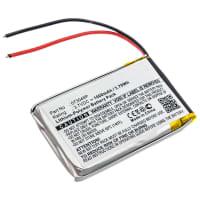 Batterie pour Polaroid 360 Dual Lens VR Camera, Polaroid R360, Polaroid R360-BLK01 - 073048P 1000mAh Batterie de remplacement