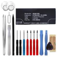 Batteria per Apple iPhone 6S Plus (A1634 / A1687 / A1690 / A1699) - (2750mAh) + Set di strumento, batteria di ricambio