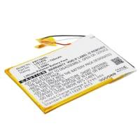 Batterij voor Sony PRS-T1, PRS-T2, PRS-T3, PRS-T3S - 1-853-104-11 (700mAh) vervangende accu