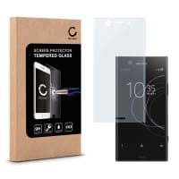 Cristal protector de la pantalla para Sony Xperia XZ1 Compact - Tempered Glass (Calidad HD / 3D Full Cover / 0,33mm / 9H)