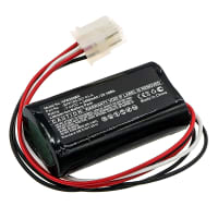 Battery for Verifone Ruby 2 Ruby CI - BPK169-001-01-A, PCA169-404-01-A (3400mAh) Spare Battery Replacement