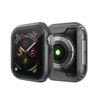 Case for Apple Watch 5 / 4 - 40mm - TPU, Transparent / Black Case