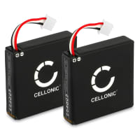 2x Batteria per Logitech H800 - 533-000067,AHB472625PST, L/N: 1109, L/N: 1110 (230mAh) Batteria Ricambio